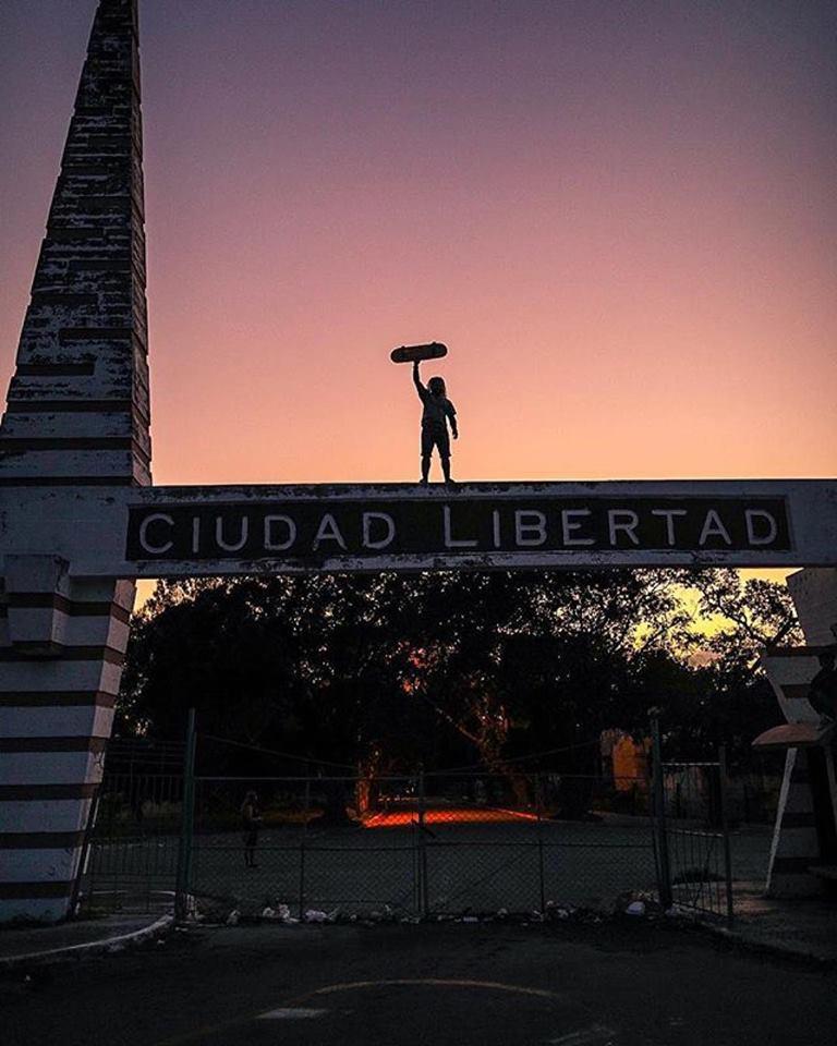 Photo Yojany Perez at DIY Skatepark Ciudad Libertad, Havana,