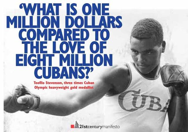 teofilo stevenson cuban boxer